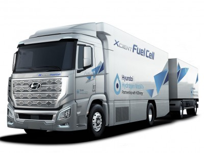 Faurecia va équiper les camions à hydrogène de Hyundai