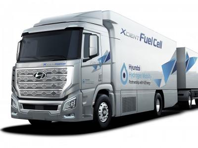 Hyundai commercialisera des camions hydrogène aux USA en 2022