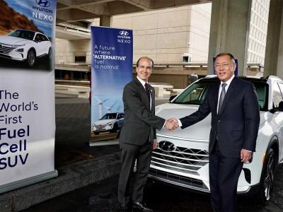Hydrogène : Hyundai accélère sa collaboration avec le gouvernement américain