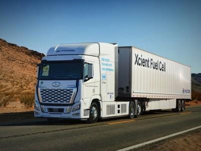 Hydrogène : le Hyundai XCIENT Fuel Cell bientôt sur les routes de Californie