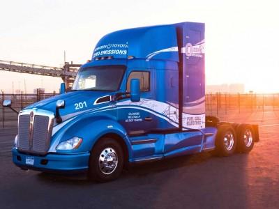 Des camions Kenworth à pile hydrogène Toyota