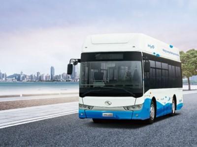 Chine : King Long présente son nouveau bus à hydrogène