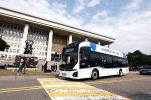 Un bus à hydrogène pour le Parlement sud-coréen