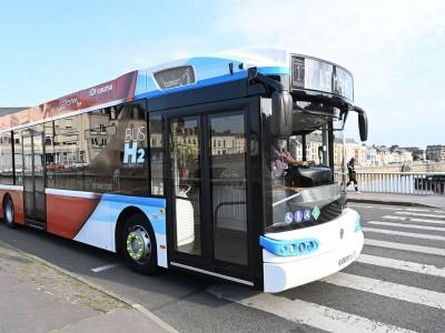Le Mans Métropole met en service son premier bus à hydrogène