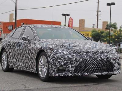 La Lexus LS à hydrogène est de sortie