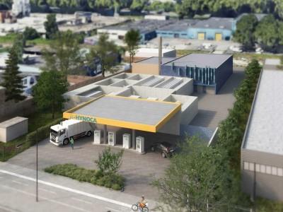 Station hydrogène : McPhy retenu par le projet R-Hynoca à Strasbourg