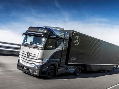 Le Mercedes-Benz GenH2 débute ses premiers tests