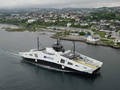 Le premier ferry à hydrogène liquide au monde a été livré