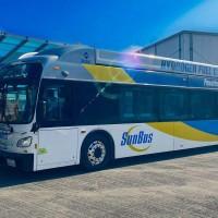 Une nouvelle flotte de bus à hydrogène pour la Californie
