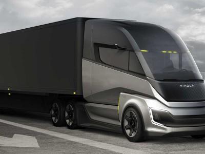 Camion à hydrogène : Nikola roule avec Bosch