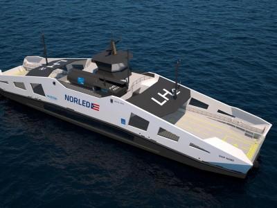 Linde alimentera en hydrogène liquide le futur ferry de Norled