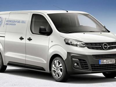 L'Opel Vivaro-e hydrogène entamera ses livraisons à l'automne