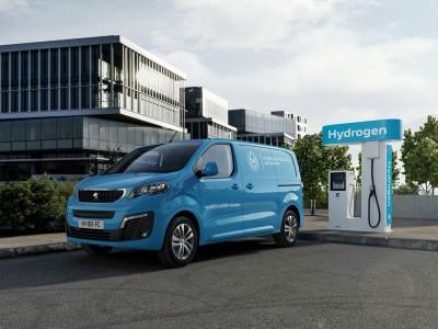 Le Peugeot Expert à hydrogène se dévoile