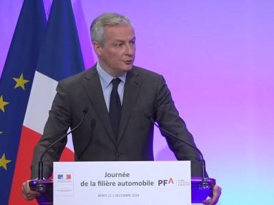 Bruno Le Maire : l'hydrogène est une technologie stratégique