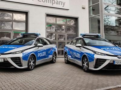 Des voitures à hydrogène pour la police de Berlin