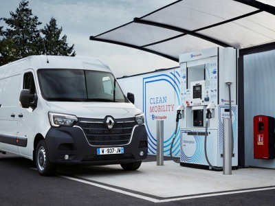 Renault lance ses utilitaires à hydrogène