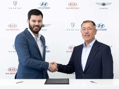 Rimac et Hyundai vont développer une supercar à hydrogène