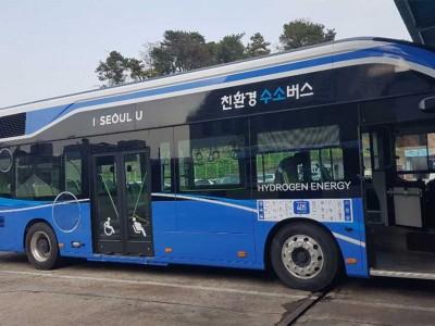 De nouveaux bus à hydrogène entrent en service à Séoul