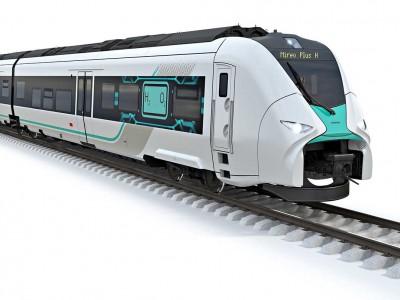 Siemens présente le futur train à hydrogène de la Deutsche Bahn