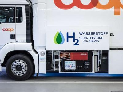 Camions à hydrogène : 1 000 stations nécessaires en Europe d'ici à 2030