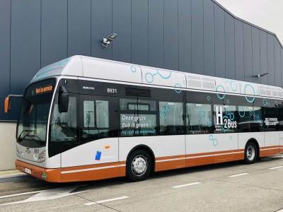 A Bruxelles, la STIB teste son premier bus à hydrogène