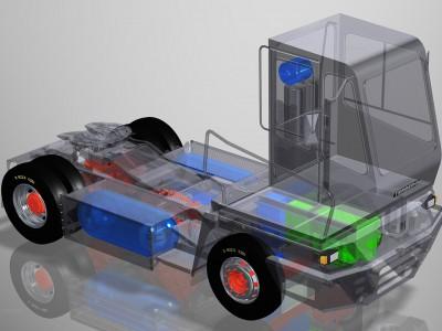 Les nouveaux tracteurs de terminaux Terberg seront déclinés à l'hydrogène