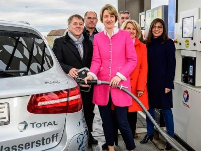 En Allemagne, Total inaugure une nouvelle station hydrogène
