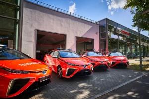 Des voitures à hydrogène pour les pompiers de Berlin
