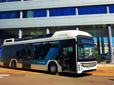 Bus à hydrogène : Toyota investit dans Caetano et Finlog