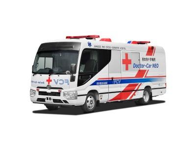 La Croix-Rouge et Toyota vont tester la première clinique mobile à hydrogène