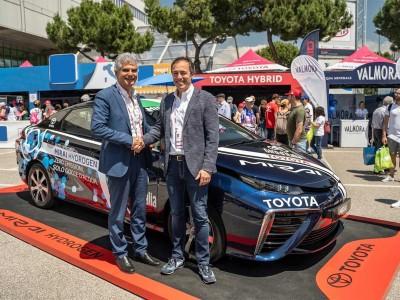 Italie : Toyota et Eni s'associent pour la mobilité hydrogène