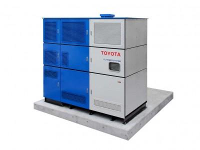 Toyota teste un groupe électrogène avec la pile hydrogène de la Mirai
