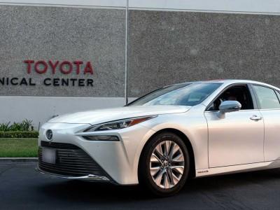 Voiture hydrogène : la Toyota Mirai entre au Guinness des records