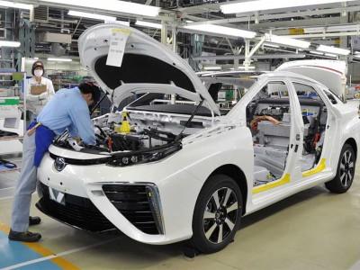 Voiture à hydrogène : Toyota a produit plus de 10.000 Mirai