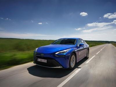 La Toyota Mirai signe un record d'autonomie à l'hydrogène