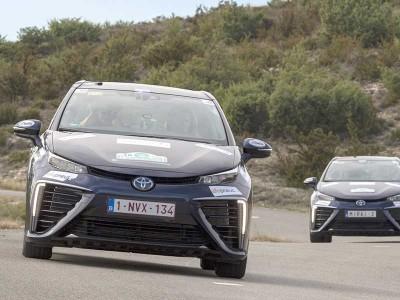 La Toyota Mirai offre une nouvelle victoire à l'hydrogène au eRallye de Monte-Carlo