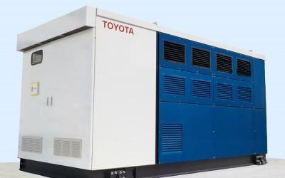 Toyota développe un groupe électrogène à pile hydrogène