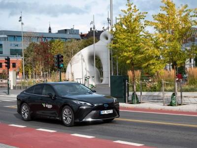 Les premiers taxis à hydrogène débarquent en Norvège