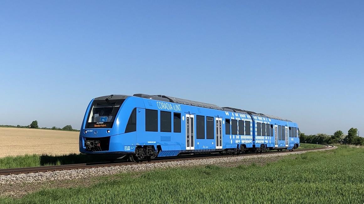 Allemagne : construction de la première station hydrogène pour trains