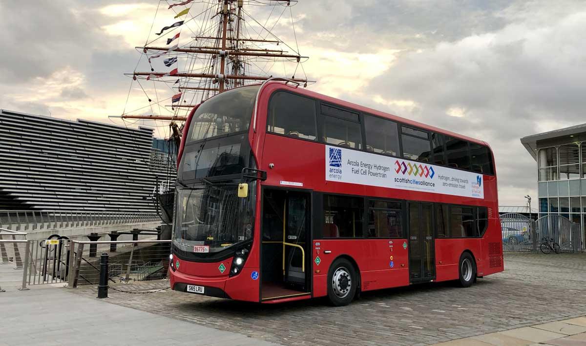 Et si les bus à l'impériale anglais roulaient à l'hydrogène ?
