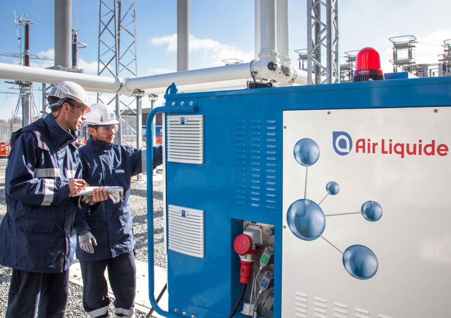 Air Liquide accélère sur l'hydrogène en Chine