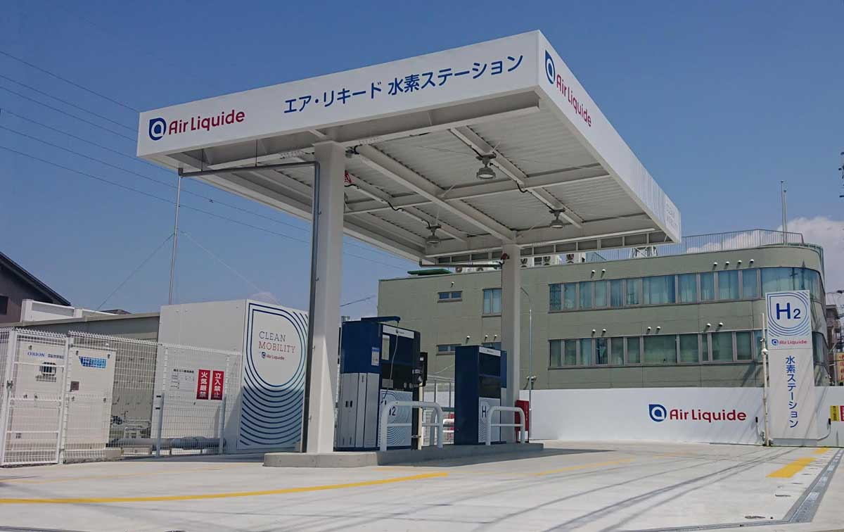 Japon : Air Liquide ouvre une nouvelle station hydrogène à Nagoya Nakagawa