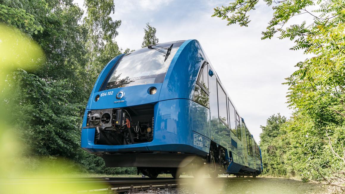 Essais réussis pour les trains à hydrogène d'Alstom