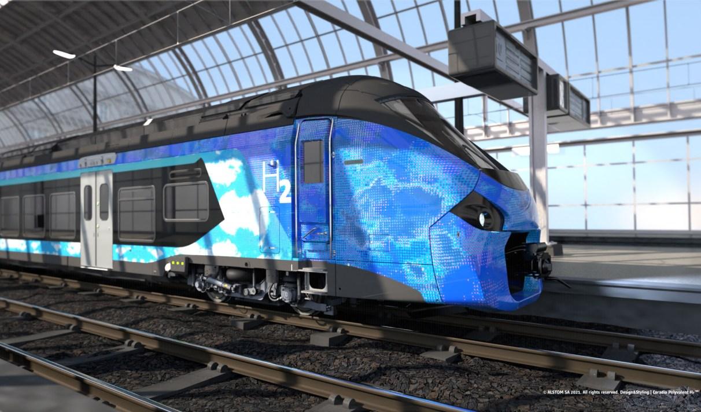 La France s'engage pour le train à hydrogène