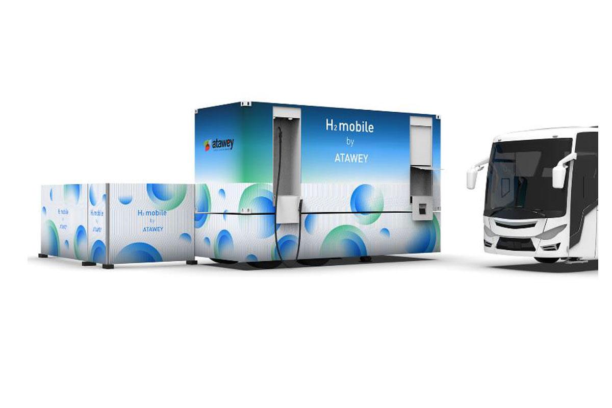 Hydrogène : Atawey lance sa nouvelle station mobile