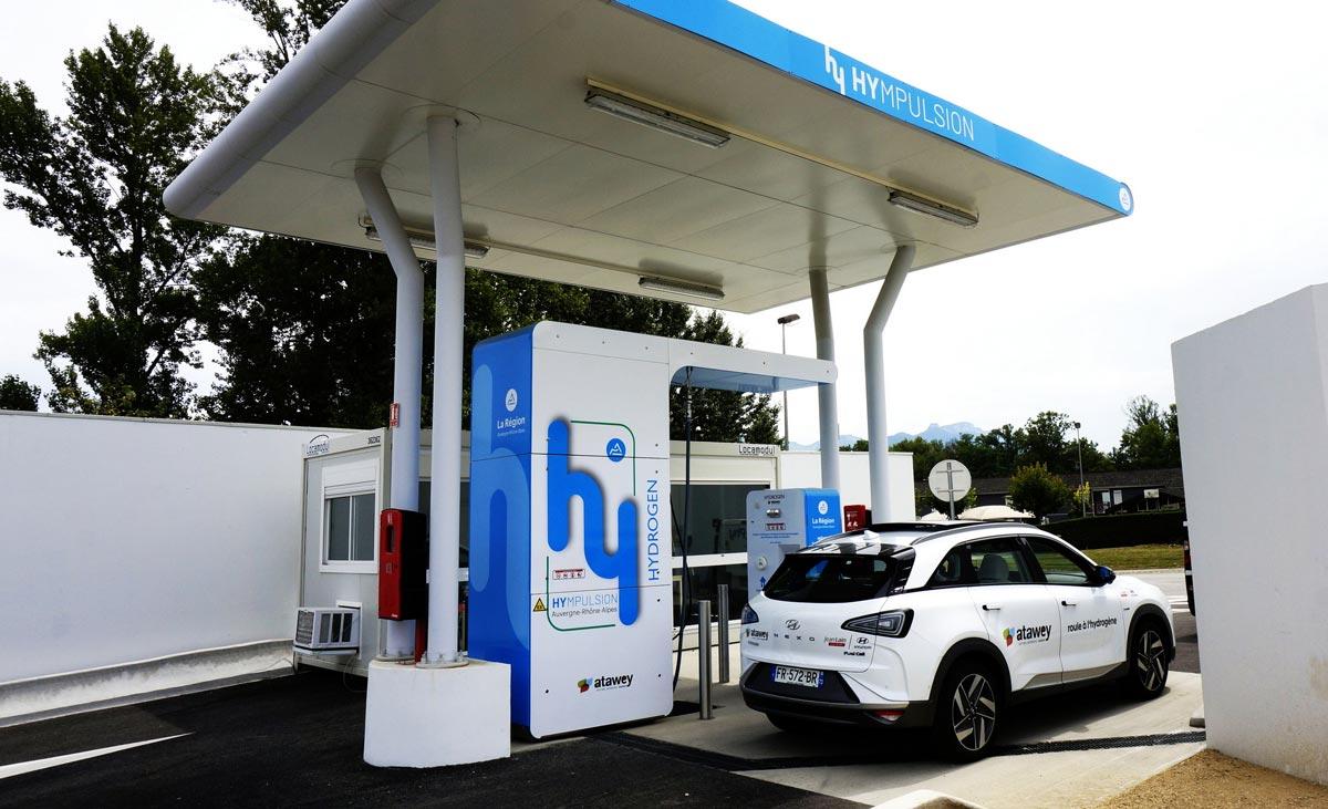 La station de Chambéry célèbre son 50ème plein d'hydrogène