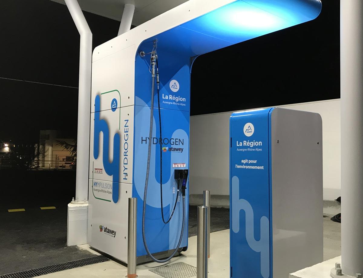 Atawey veut construire 150 stations hydrogène en France d'ici 2025