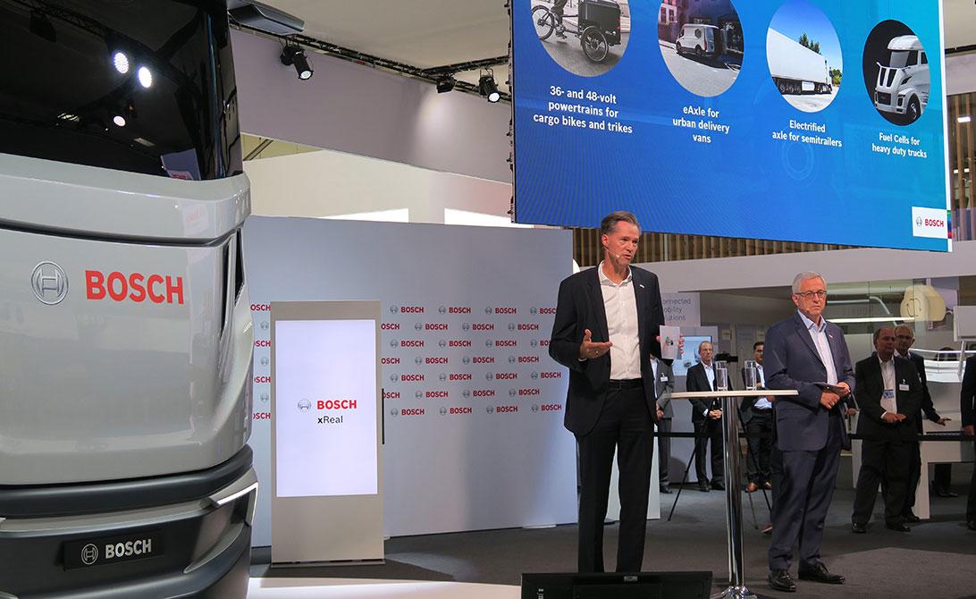 Premiers clients pour les piles à combustible Bosch