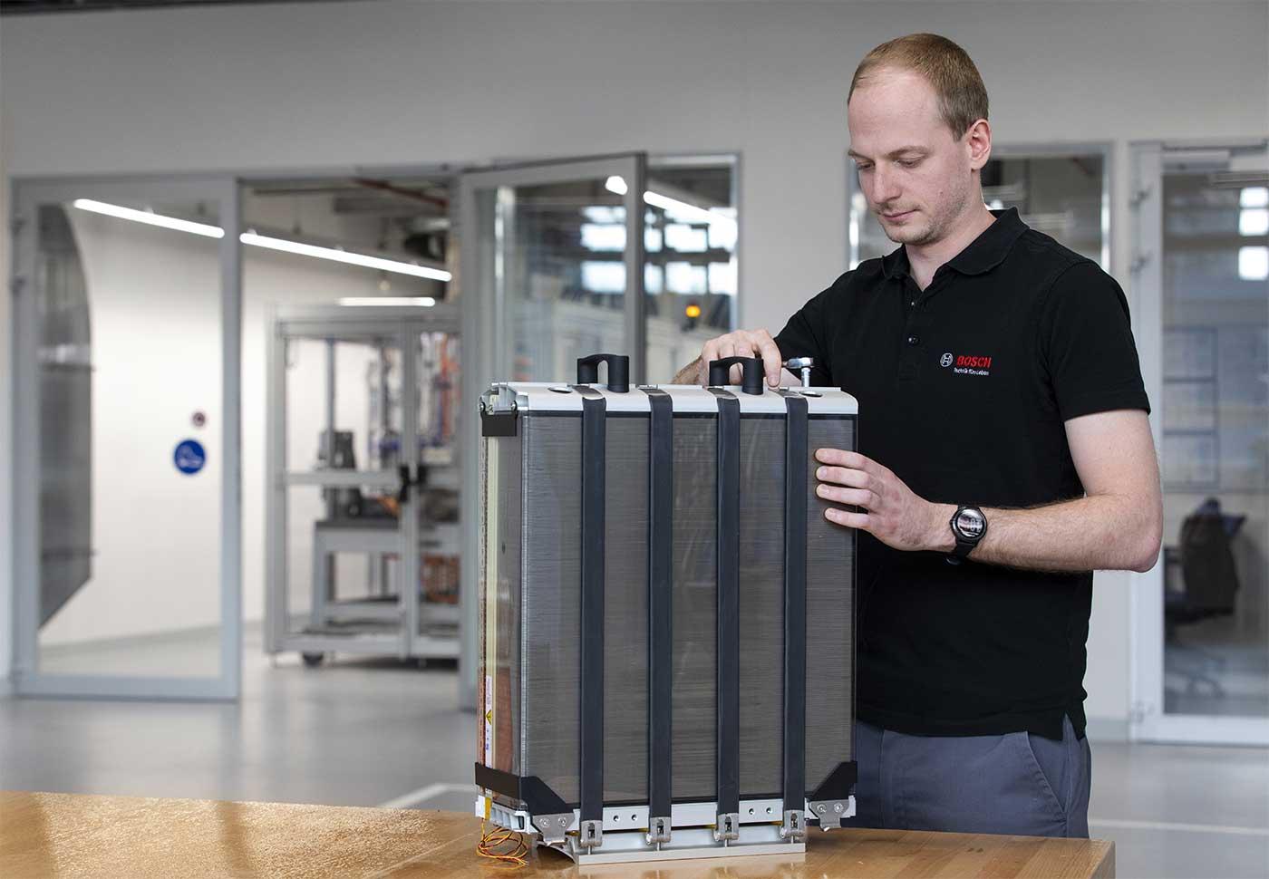 Bosch se lance dans la production de piles à combustible