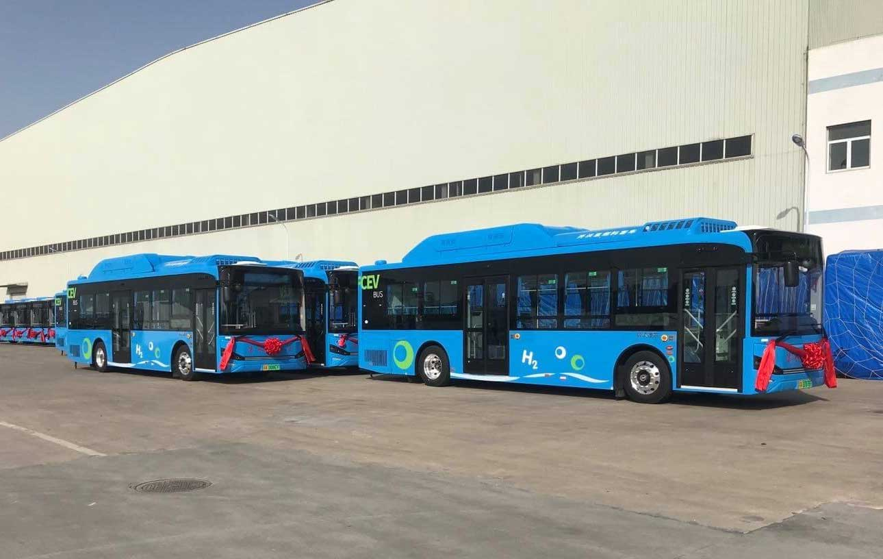 En Chine, ces bus à hydrogène ont parcouru 75 000 km en 45 jours